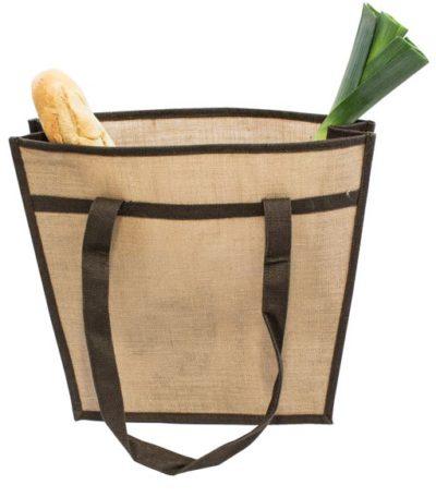 Jute Bag with a Shoulder Strap