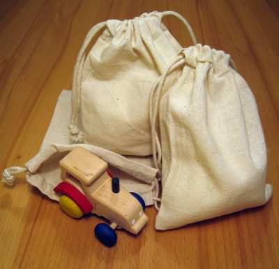 Cotton gift pouches / bags