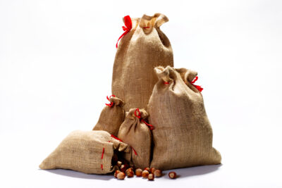 Jute gift pouches / bags