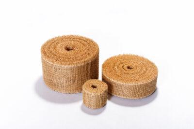 Jute decorative tapes - natural