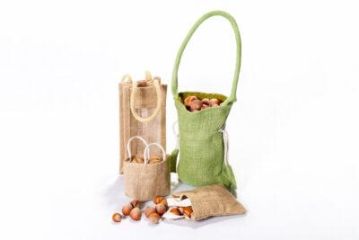 Jute gift bags - MINI