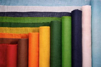 Jute fabrics 211 g / m2 - dyed