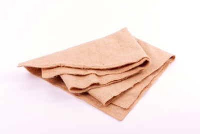 Jute nonwoven sheets