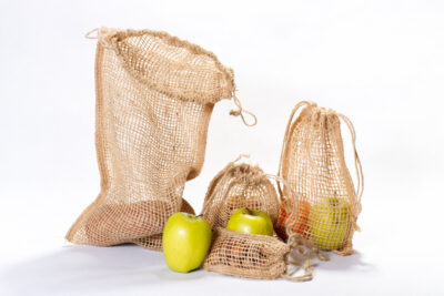 Jute gift pouches / bags - LENO